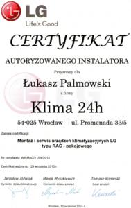 Certyfikat LG - Certyfikaty