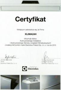 certyfikat ELux - Certyfikaty