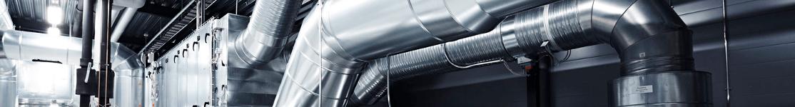 wentylacja rury - Montaż klimatyzatora z podnośnika