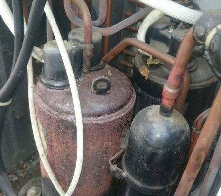 DSC 2985 1 e1521043600429 450x400 - Serwis klimatyzatora - uszkodzona sprężarka