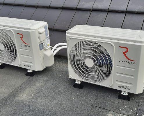 20200903 131356 495x400 - Montaż klimatyzatorów w nowej szeregówce - Wilkszyn