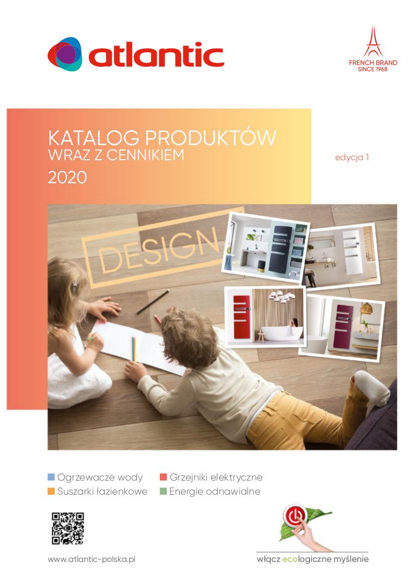 Atlantic KATALOG 2020 - Pompy ciepla Atlantic